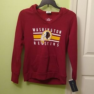 Women's Redskins hooded sweatshirt